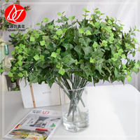 140180 china product artificial plants green sweet potato leaf for sale