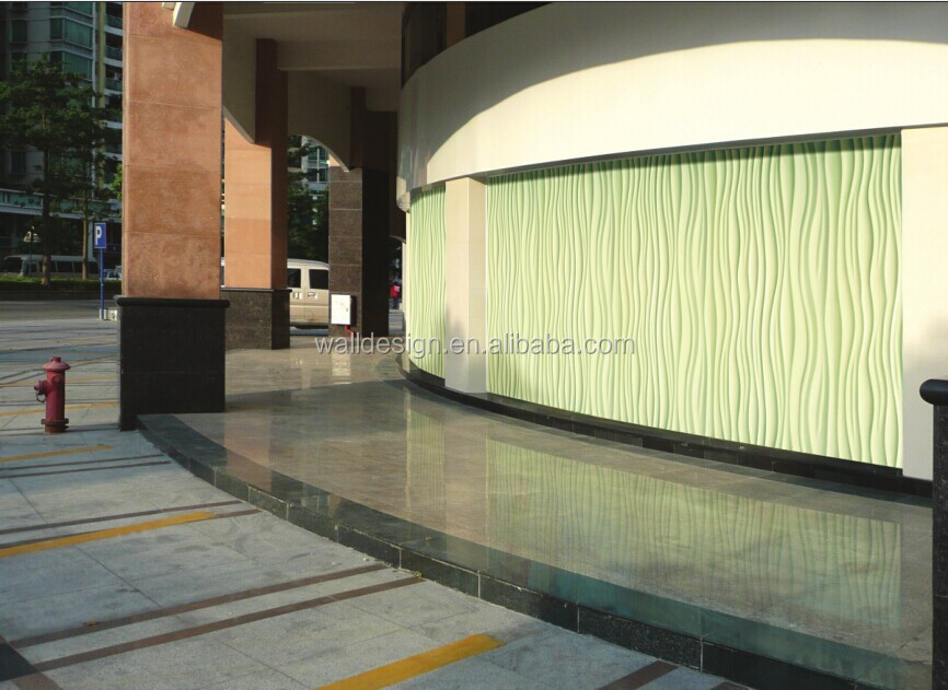 mdf 3D exterior wall panels View exterior wall panels