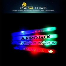 2015 hot sale glow stick/ led glow stick/foam glow stick