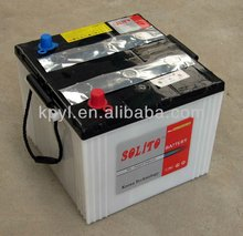 12V 100AH dry charged car battery