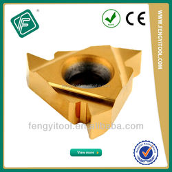 Partial Profile 60 Degrees Indexable Tungsten Carbide Thread Turning insert,thread cutting insert
