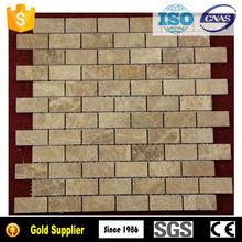 Long rectangle shaped mosaic border