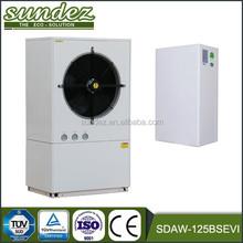 SDAW-125BSEVI EVI heat pump air water heat pumps compressor scroll