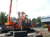 hydraulic static pile driver sales agent wanted worldwide