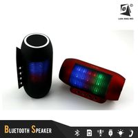 T2218 mp3 player built in speaker with led flashlight chinese portable speaker for party creativity design high quality
