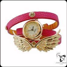 2014 vendiendo la parte superior de cuero genuino reloj para venta al por mayor