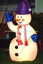 fábrica de porcelana boneco inflável de natal decoração