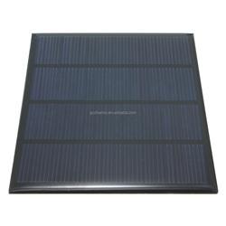Excellent quality 12V 1.5W Epoxy Solar Panels Mini Solar Cells Polycrystalline Silicon Solar DIY Solar Module
