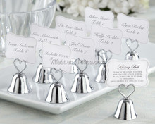 Wedding Kissing Bell Place Card/Photo Holder