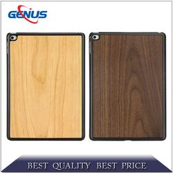 Guangzhou hot selling carve walnut wood bamboo phone case for ipad 6