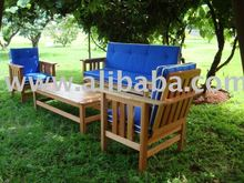 Novus - Wooden Patio Benches / Chairs