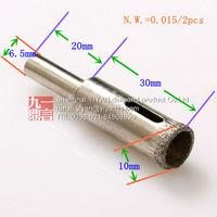 10mm glass bit Diamond Core Drills glass tile ceramic stone drill bit