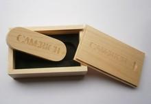 Original Wooden usb with Box pen drive 8GB 16gb 32gb 64gb usb Flash Drive Bulk USB 2.0 Memory Stick Festival Gift