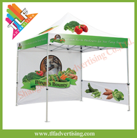 Custom pop up promotional display tent
