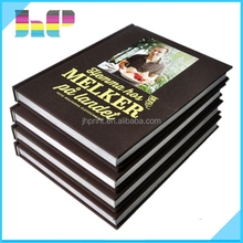 Super quality rich experience Special finishing Harcover book with cloth cover