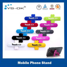 Promotional custom printed silicone funny cell phone holder for desk