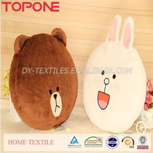 cheap wholesale polyester brand varied custom made pillow