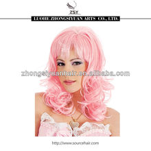 Fashionable wholesale price party halloween wigs