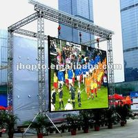 die casting Aluminum cabinet outdoor ull color rental led video wall P10 LED display screen