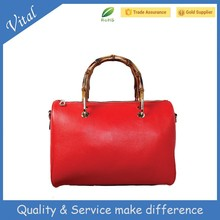 Unique fashion genuine leather bag, leather handbag
