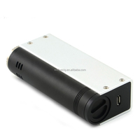 New e-cig tesla 60w box mod wholesale tesla 60w box TC mod black/silver