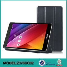Good Quality Foldable Folio Stand Leather Tablet Case for ASUS ZenPad 7.0