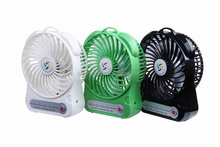 slogan message small size wireless mini battery fan with low price