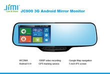 3G Camera car radio dvd gps navigation system mirror android