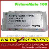 Suitable PM100 compatible cartridge for epson PictureMate 100(T573)