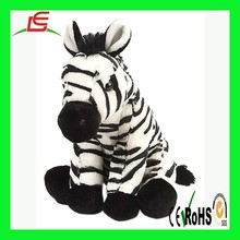 LE C1630 HOT Zebra animal stuffed plush toys for kids