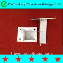 high quality galvanized angle steel bracket for wall use