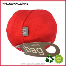 Good quality plastic gift shopping bag recycle bag Fashionable unique Hand's strong bearing heavy weight