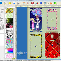 Daqin mobile skin cutting software for any model
