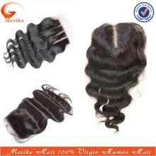 Wholesale natural color silk base closure,free parting lace closure,cheap lace closure