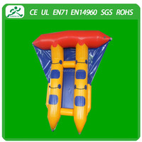 2015 High quality inflatable flying fish made in china(4seats)
