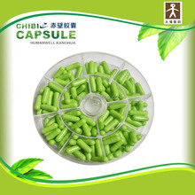 Sale blue white empty Capsules Size 0 FDA and Halal Certified