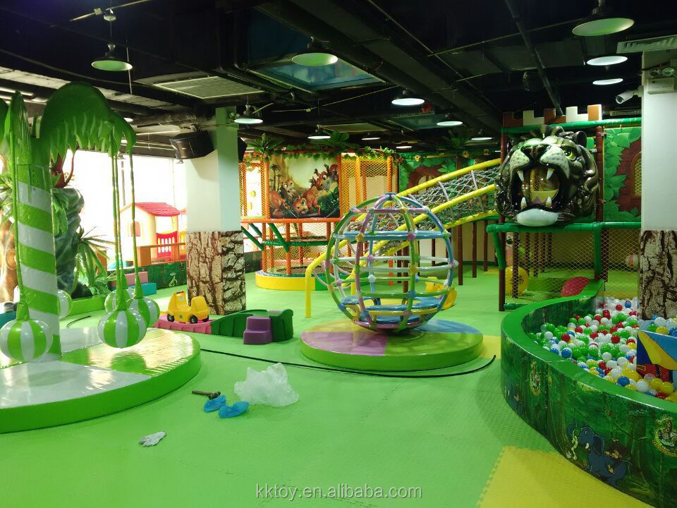 Buy the best price and new design indoor playground from for Indoor play structure prices
