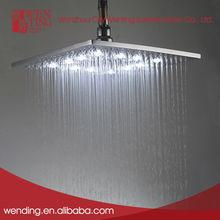el ahorro de agua de lluvia led cabeza de la ducha
