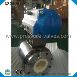 3 PCS Ceramic Ball valves Motorized Actuator