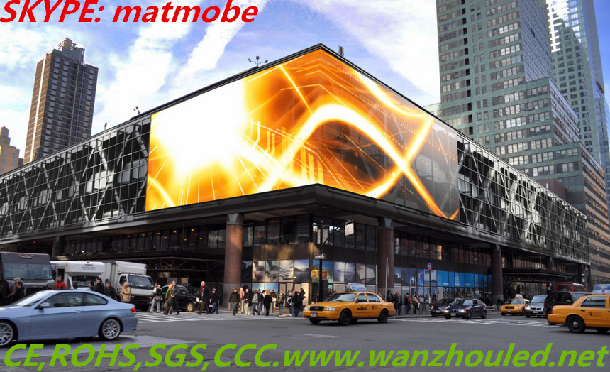 P16 P20 P25 Low Price Outdoor Building Led Display Screen