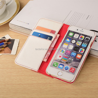 Flip Case For iPhone 6, Leather Case With High end PU Leather for iPhone 6 cell phone case