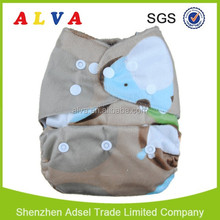 Reusable Cloth Nappy Super Absorption baby diaper Washable With One insert