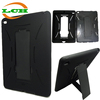 Vertical Stand shockproof silicone + plastic tablet pc cover case for ipad air 2 for ipad 6