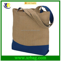 design jute shopping bag/jute tote bags