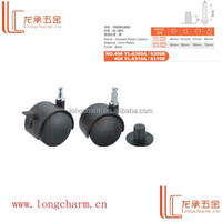 Manufacturer price plastic swivel office chair locking caster made in China