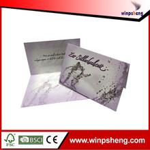 wedding invitation card arabic style/ CMYK printting caed for wedding invitation