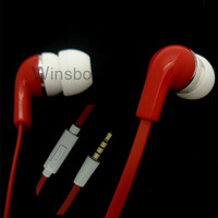 mobile phone earphone handphone earphone with mic for nokia