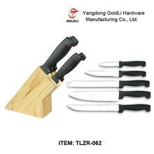 wooden knife block, kitchen knife block, knife sets wooden block TLZR-062