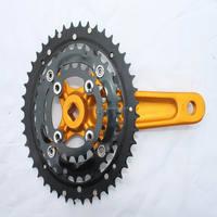 SH-CW6383 3 speed black chain wheel for city bikes