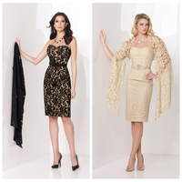 new designs sexy see-through lace evening dress patterns